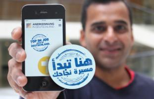 Anerkennung in Deutschland - die App