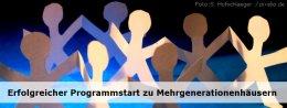 Erfolgreicher Programmstart zu Mehrgenerationenhäusern  Foto: S. Hofschlaeger  / pixelio.de