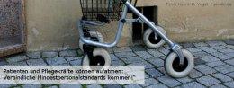 """Patienten und Pflegekräfte können aufatmen: Verbindliche Mindestpersonalstandards kommen!"""" Foto: Henrik G. Vogel  / pixelio.de"""