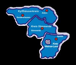 Karte des Wahlkreises