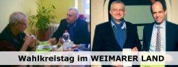 Wahlkreistag im Weimarer Land